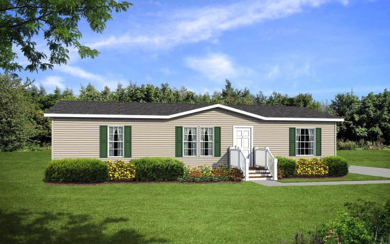 On-Site Model custom modular home